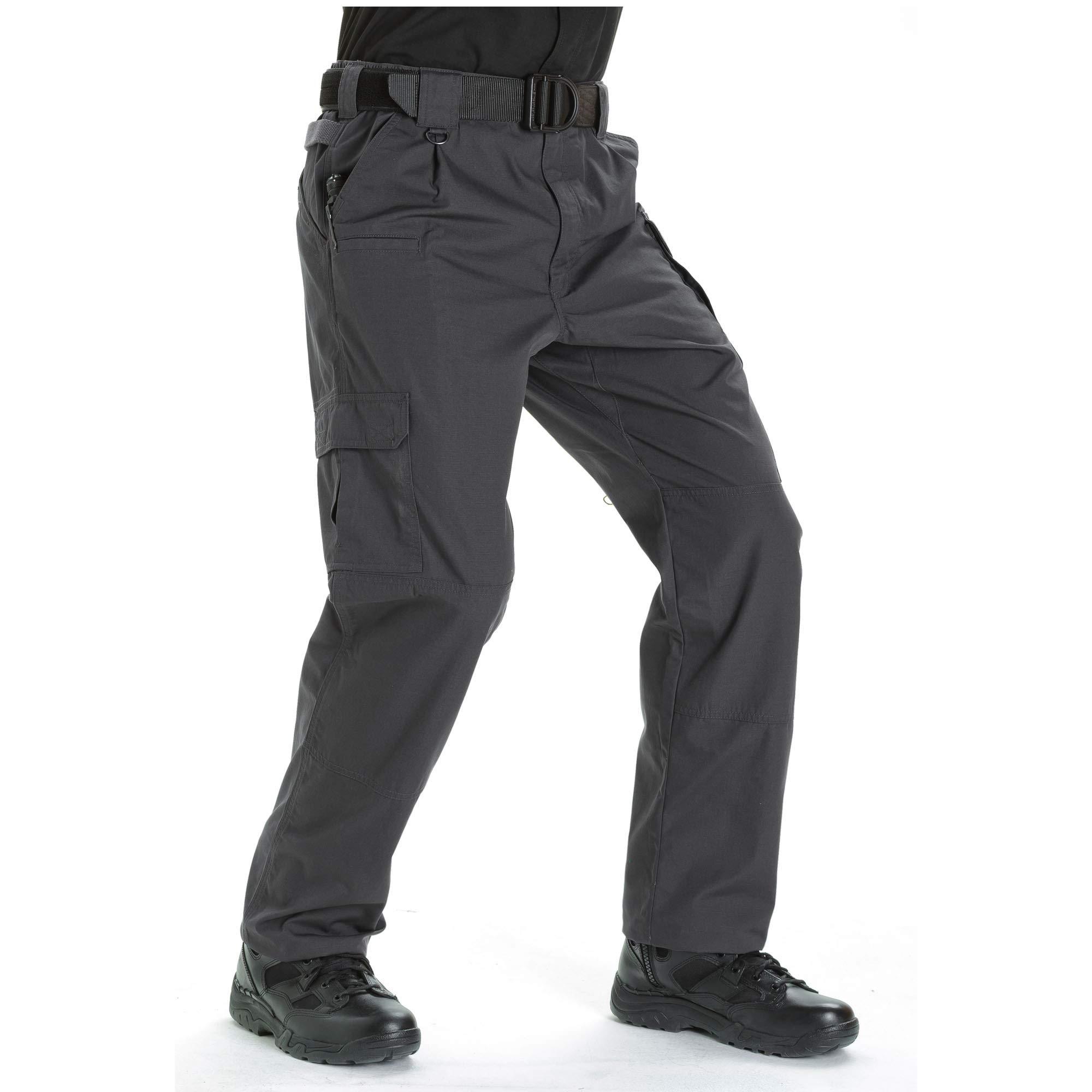 5.11 Tactical #74273L Men's Unhemmed Taclite Pro EDC Pant (Charcoal, 46)