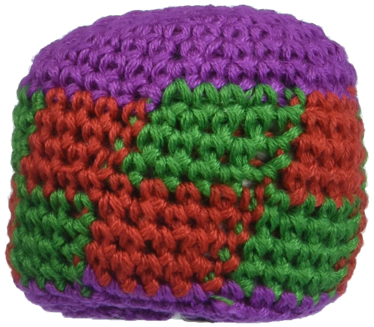 Hackey Sacks Knitted Kick Balls (Pack of 12) by Fun Express