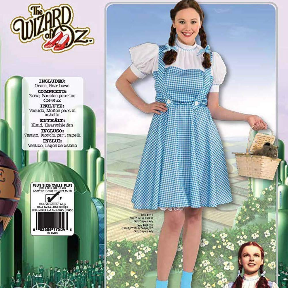 Amazon.com: Bigyonger Womens Halloween Costumes Adult Wizard of Oz Dorothy Cosplay Dresses: Clothing