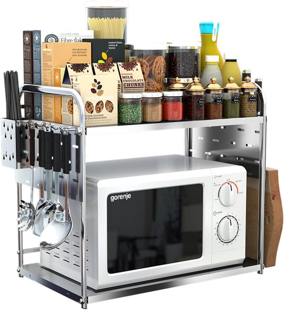 Yxx max Organizador Cocina Estantes de Horno de microondas de ...