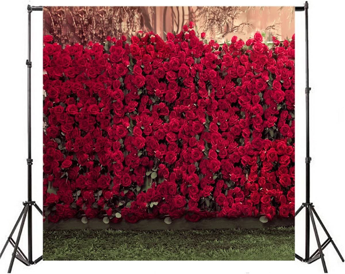 Paris 10x15 FT Backdrop Photographers,Complex French Elements on Floral Rose Checkered Hearts Romance Love Theme Background for Baby Shower Birthday Wedding Bridal Shower Party Decoration Photo Studio