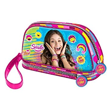 Trousse de toilette Soy Luna Smile - 2 compartiments Rose kjPPw4L