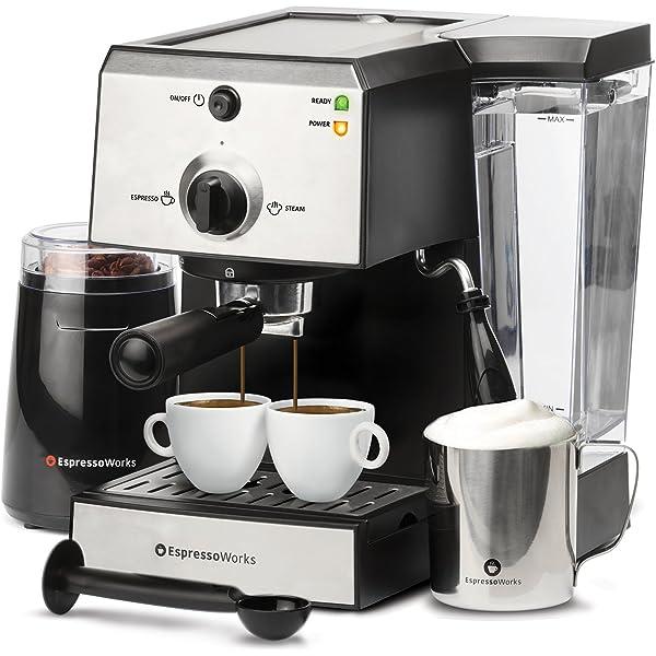 Amazon.com: Cafetera espresso, barista cafetera espresso ...