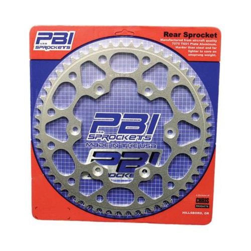 PBI Aluminum Rear Sprocket 50T Natural 4057-50