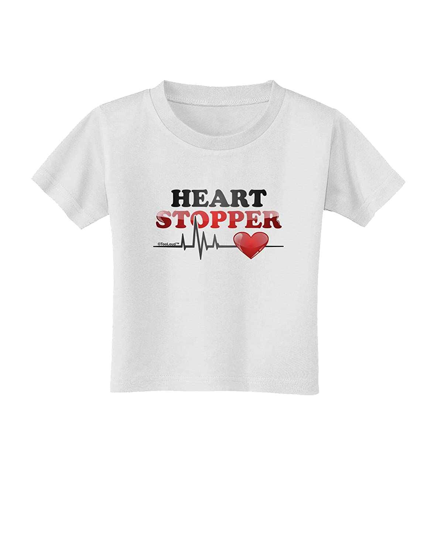 TooLoud Heart Stopper Toddler T-Shirt