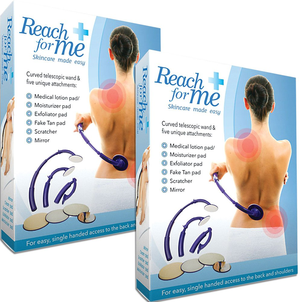(Set/2) Reach For Me Telescoping Skin Care Attachment Application System