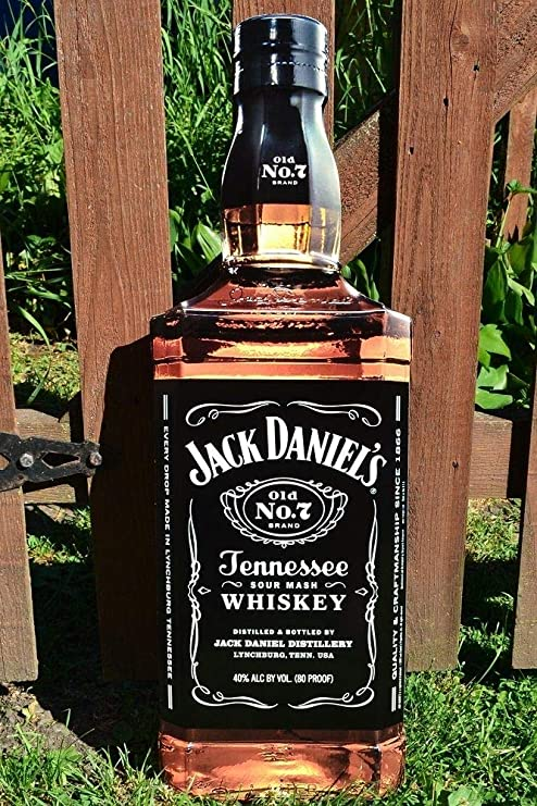 US Seller Jack Daniels Tennessee Whiskey tin metal sign garden bar pub signs