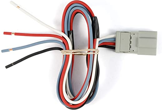 Connects Any CURT Brake Control to Specific Jeep Vehicles   Packaged Curt Manufacturing 51460 Harness