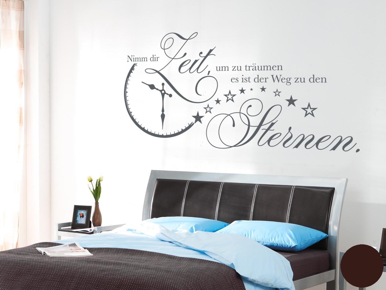 Klebefieber Wandtattoo Nimm Dir Zeit B x H H H  140cm x 70cm Farbe  Dunkelgrau B071RTT4P4 Wandtattoos & Wandbilder 1fc374