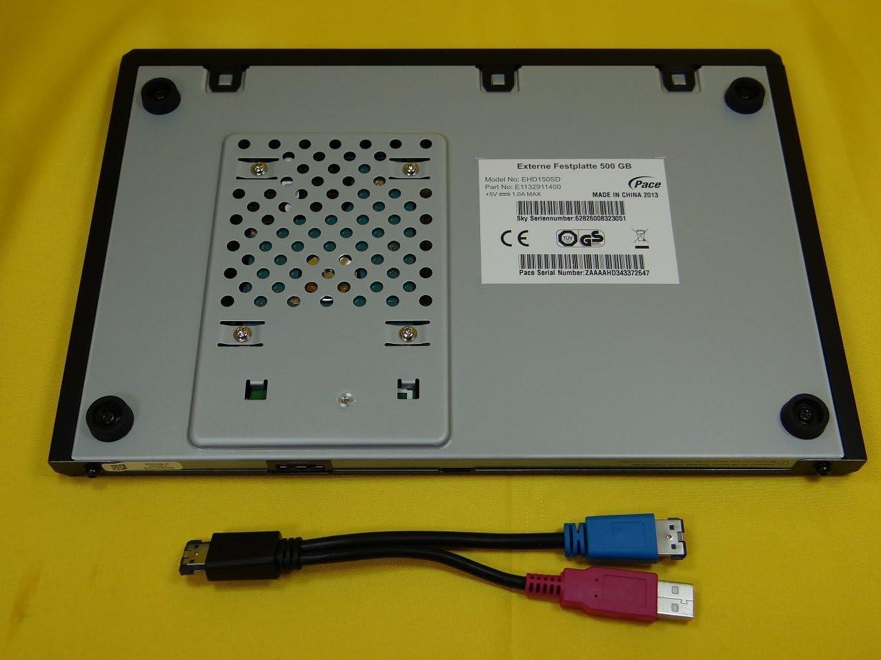 Pace plc EHD150SD 500GB externe Festplatte