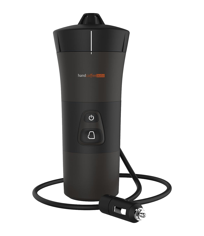 Handcoffee, Macchina da caffè per auto, con presa accendisigari, 140 W, 2 Bar, Nero Handpresso 127026