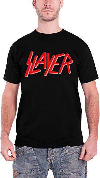 Official Slayer  T-SHIRT COTTON PRINT ALL SIZE