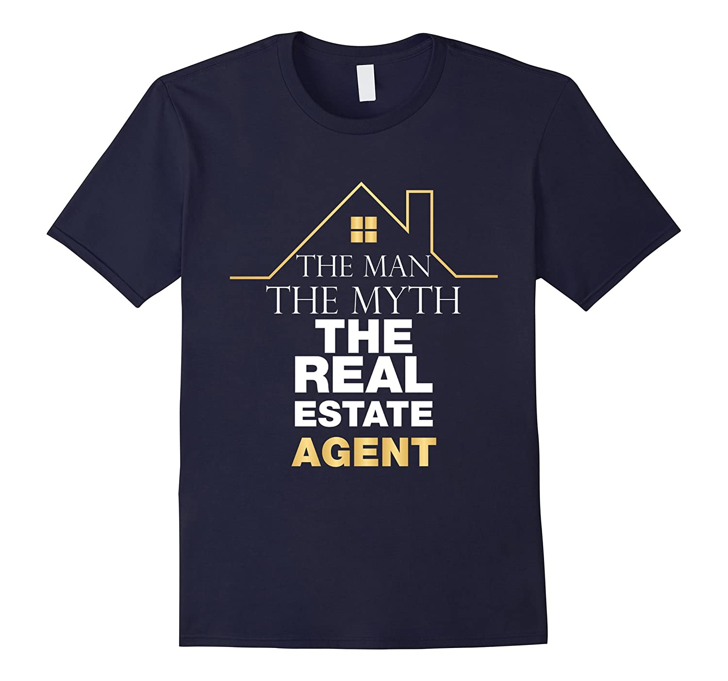 Real Estate Agent T-shirt - The man the myth the agent-TD