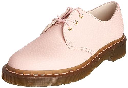 Dr. Martens 10084680 - Mocasines de Cuero para Mujer, Color Rosa, Talla 43: Amazon.es: Zapatos y complementos