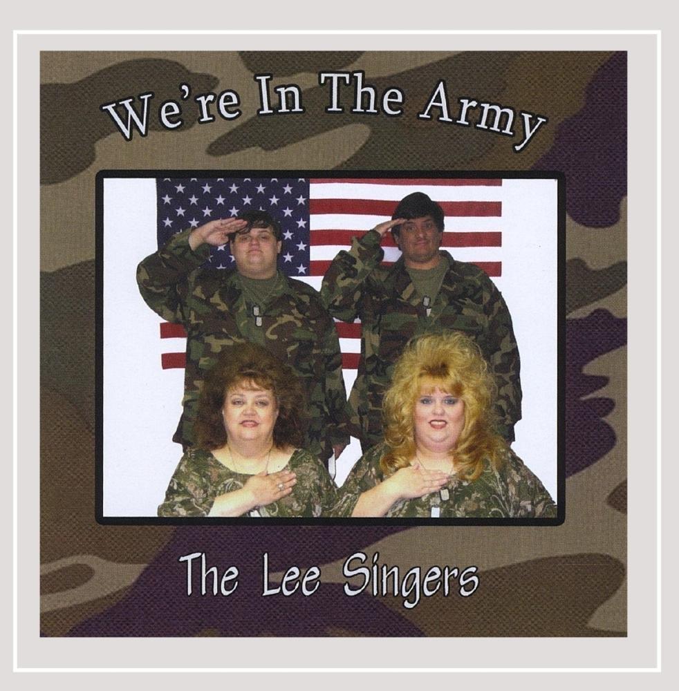CD : Lee Singers - We're In The Army (CD)