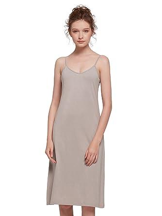Cotton Slip Dress