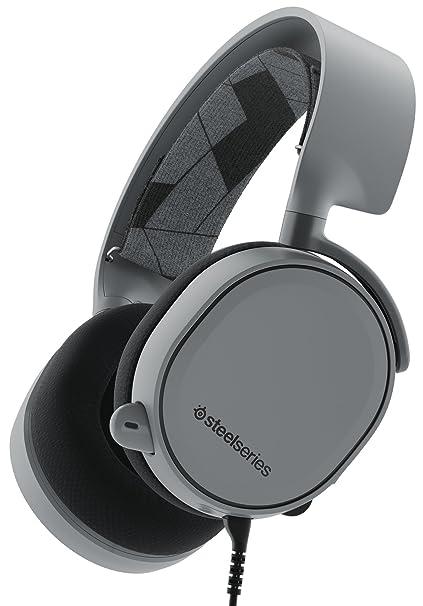 SteelSeries Arctis 3, Auriculares para juego, compatible con las plataformas PC, Mac,