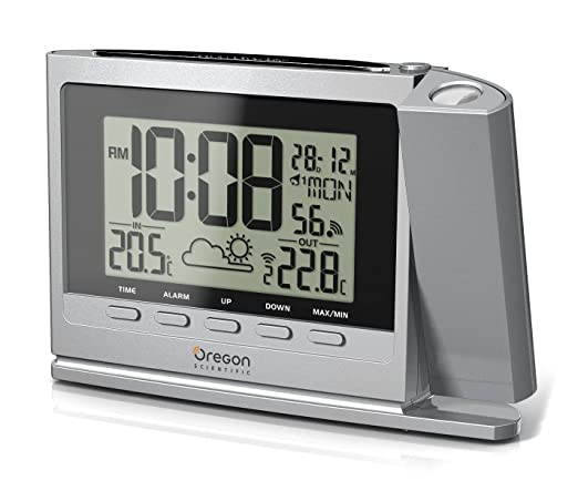 Oregon Scientific TW369 - Reloj proyector con estación ...