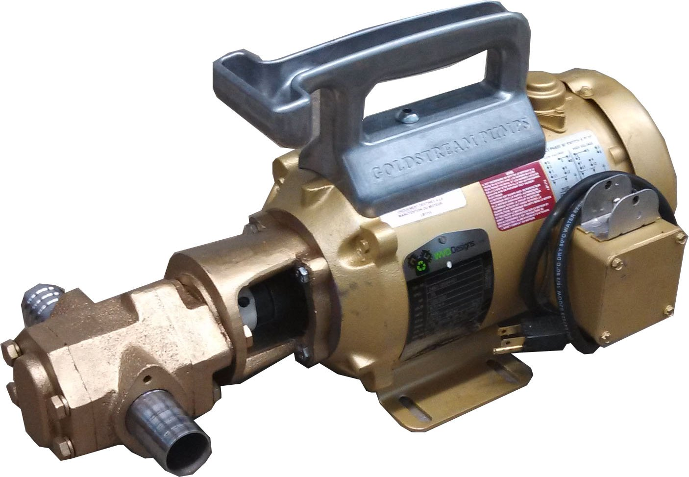 Goldstream Pumps 25gpm Portable Oil Pump by Goldstream Pumps