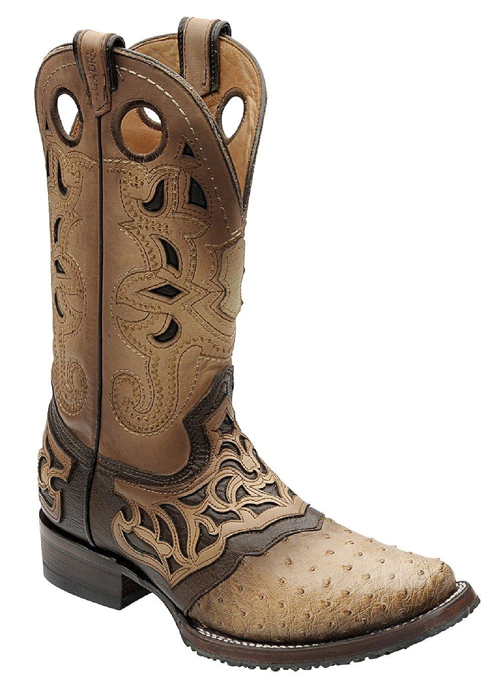 a62a7cc30e0 Amazon.com | Cuadra Ostrich Rodeo Western Boots 2I03A1 | Western