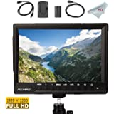 FeelWorld FW760 Full HD Camera LCD Monitor 4K HDMI Output With Histogram, 7 Inch IPS 1920x1200, F550 Battery and Charger Included