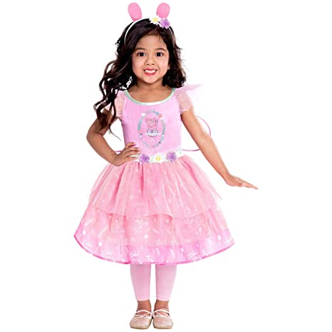 Disfraz de Hada Rosa de Peppa Pig para niñas pequeñas (Edad ...