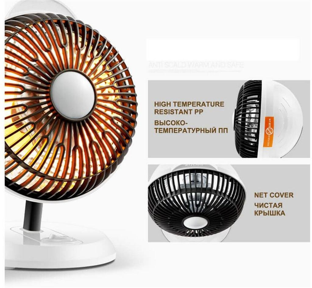 Heater Mini Electric Heater 200W for Office Desktop Air Heating Small Heating Device Heat Electric Mini Heater Portable