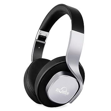 iDeaUSA Auriculares Inalámbricos con Micrófono Bluetooth Audífonos con Hi-Fi Sonido Estéreo Mega Bajos Poderosos