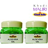 Khadi Mauri Herbal Aloe Vera Gel 100 g - Pack of 2