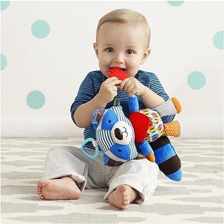 Imagen deSkip Hop SH306209 Mapache de juguete Multicolor juguete de peluche - Juguetes de peluche (Mapache de juguete, Multicolor, 76 mm, 127 mm, 254 mm)