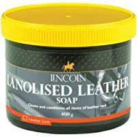 Lincoln Lanolised Leather Cleaning Soap 400G Tack Cleaning