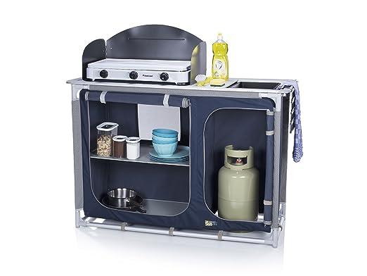 Outdoorküche Klappbar Vergleich : Campingküche mit spüle windschutz campingschrank alu rahmen faltbar