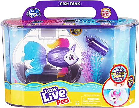 Little Live Pets Lil Dippers Playset Unicorn Sea Series 1 Playsets Amazon Canada