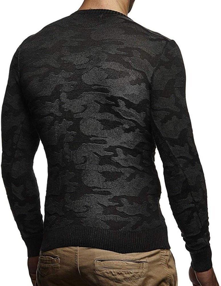 TGZZ Pullover Strickschal Rollkragenpullover Pullover Winter Langarm Hip Hop Streetwear Hochwertige T-Shirts Black