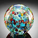 Confetti Sphere Paperweight