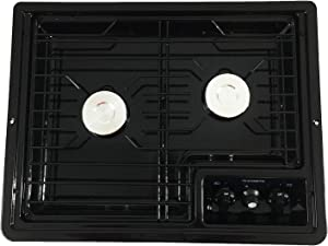 Dometic 50211 Drop-in Stove Black Cooktop