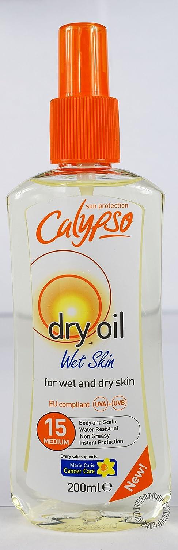 Calypso protection solaire variété Skin Health Care Lotion solaire Huile bronzante Products fabriqué en Royaume-Uni.
