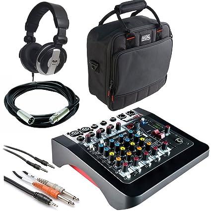 d5cafeae46 Amazon.com  Allen   Heath ZED-6FX 6 Input Compact Analog Mixer with ...