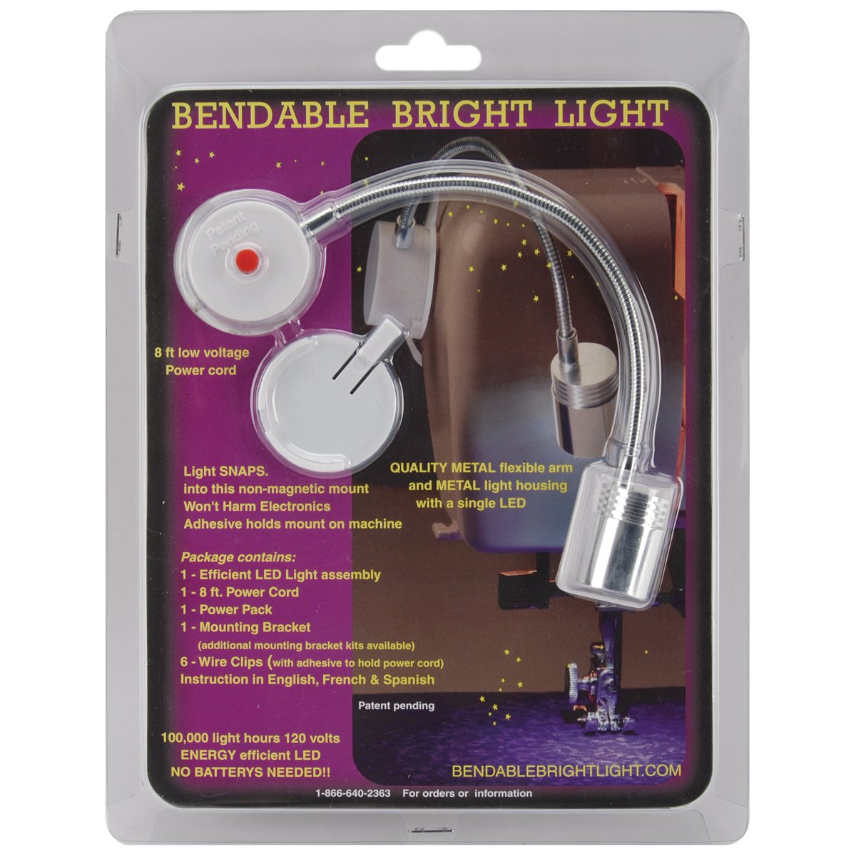 Bendable Bright Light Bendable Kit with On/Off Button( only useable in Europe) by Bendable Bright Light (Image #1)