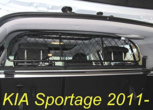 Ergotech Dog Guard, Pet Barrier Net and Screen RDA65-XS8 for KIA Sportage, car Model Produced Since 2011, for Luggage and Pets