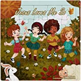 Jesus Loves Me So 25 Piece Religious Puzzle, 6 Inch, Pack of 6