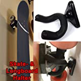 Skateboard und Longboard Wandhalter Stativ 360 Grad für alle Boards geeignet und leicht anzubringen