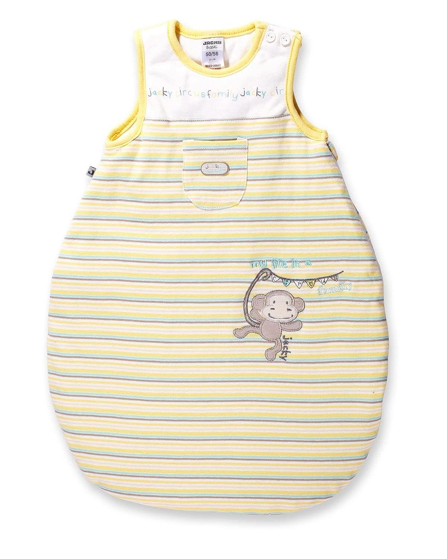 JACKY Unisex Saco de dormir, Circus Family, 324002 amarillo amarillo/blanco Talla:86/92: Amazon.es: Bebé