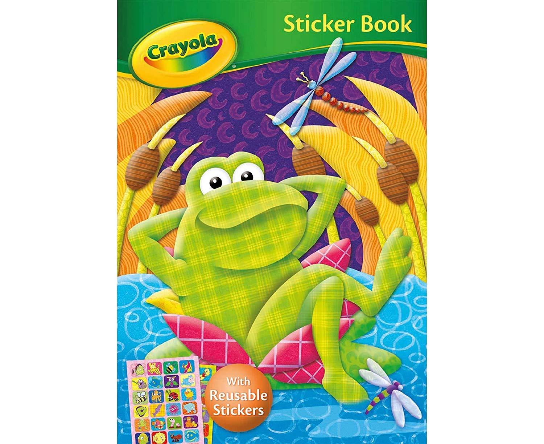 Crayola Sticker Activity Book