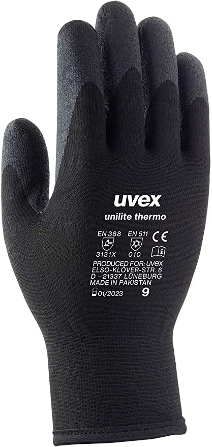 Uvex Gants dhiver Unilite Thermo Doublure Thermique Externe Durable