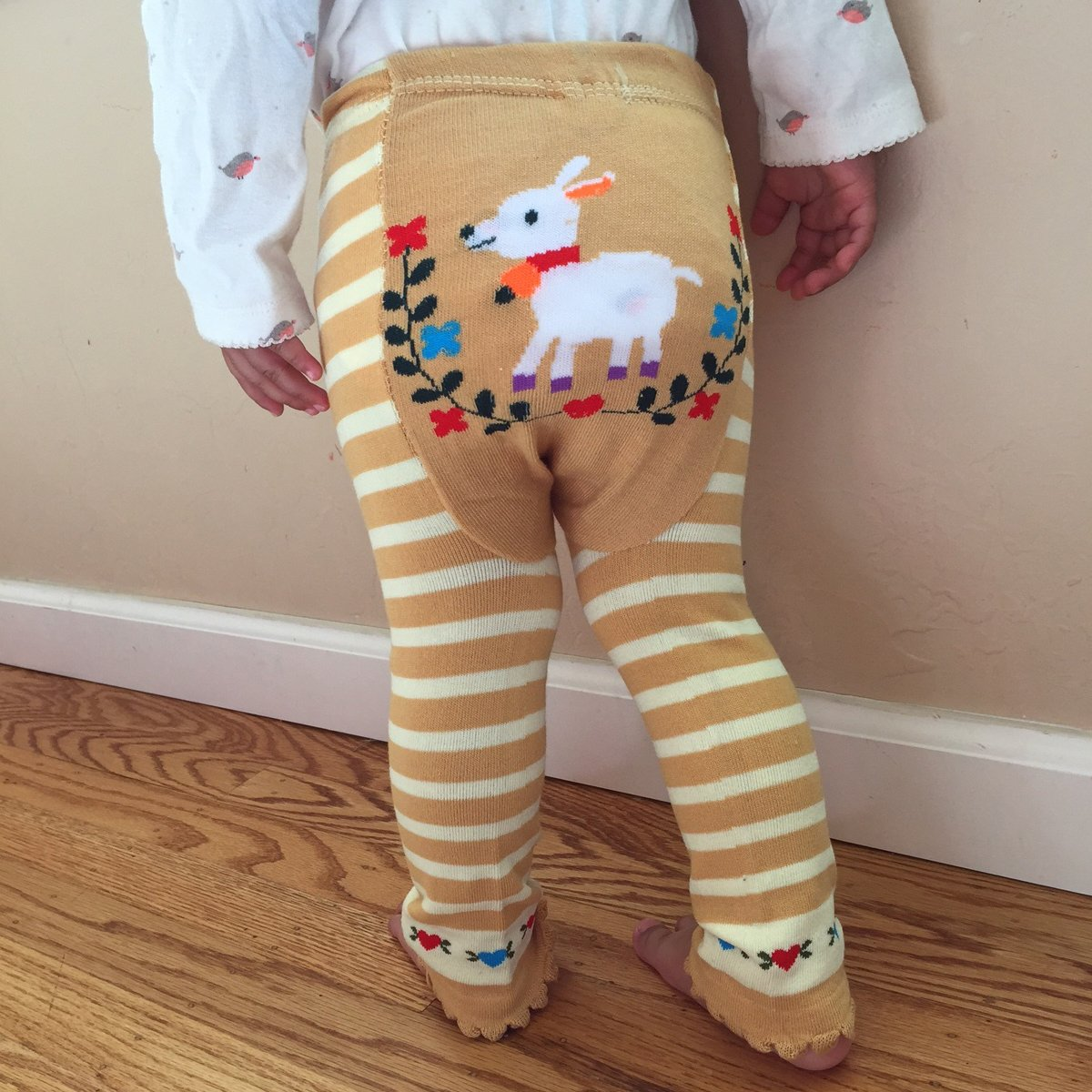 12 to 24 Months Wrapables Baby /& Toddler Leggings Donkey and Drum