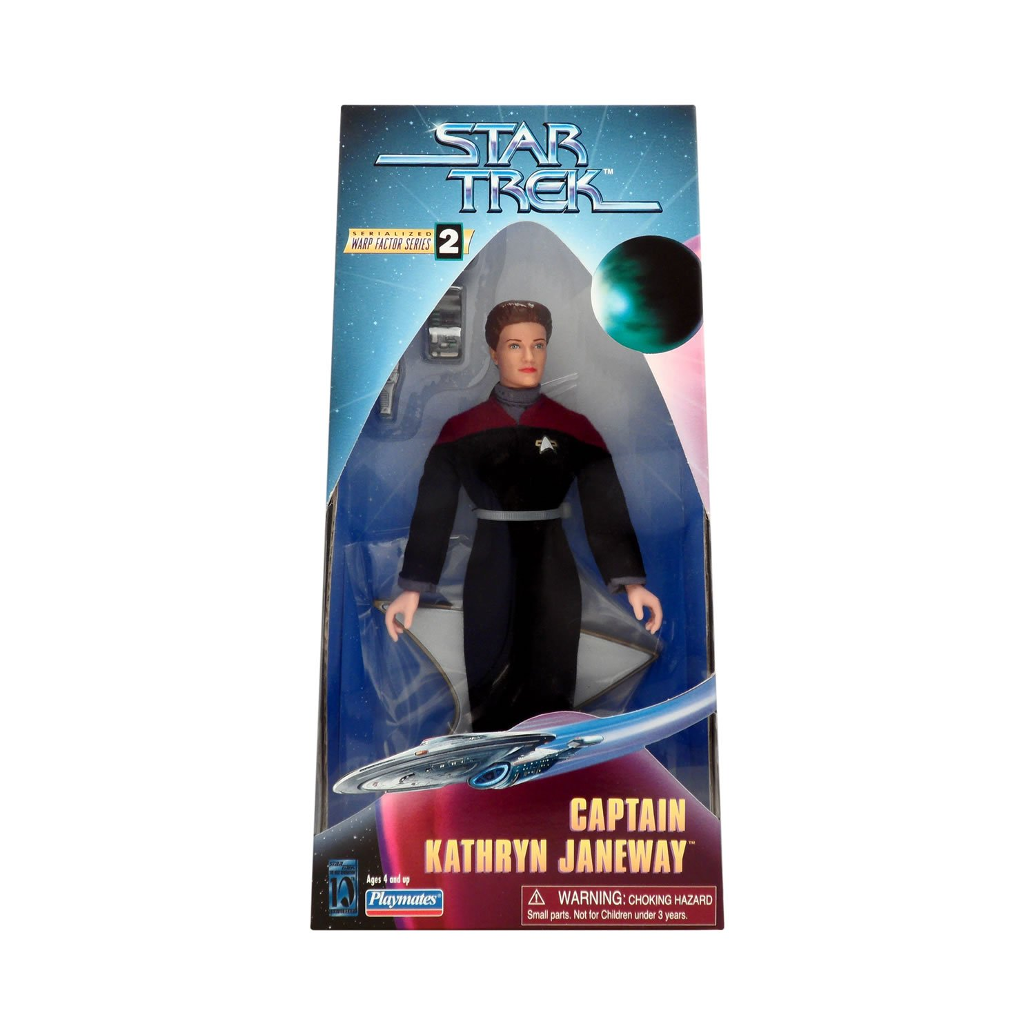 Playmates Star Trek Voyager Kathryn Janeway 9in Figure by Playmates