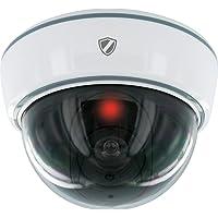 SCHWAIGER -5569- Kamara-Attrappe/Dummy-Kamera/Atrappe-Kamera/Versteckte Kamera fürs Haus/Decken-Montage/Einbruchschutz / Sicherheit