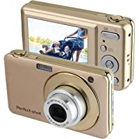 PowerLead Gapo G052 2.7 Inch TFT 5X Optical Zoom 15MP 1280 X 720 HD Anti-shake Smile Capture Digital Video Camera