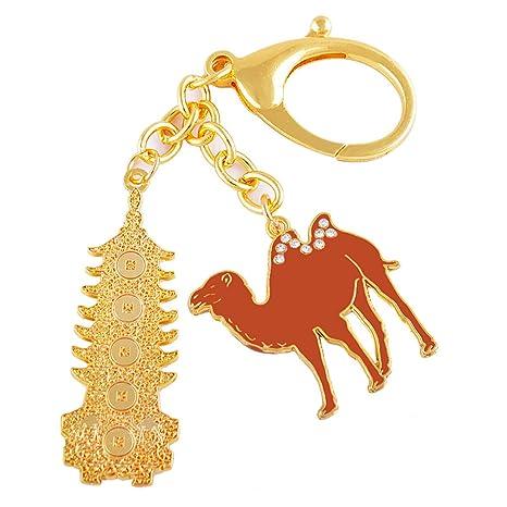 Fengshui siete nivel-Llavero con diseño de camello-Amulette ...